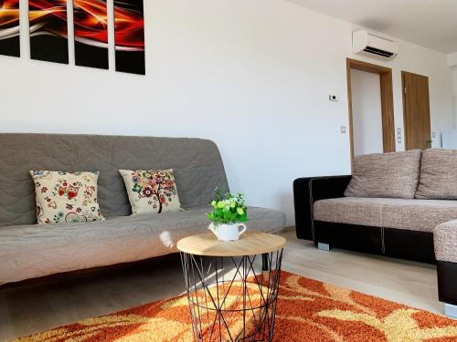 Semmelweis Panoramic Luxury Apartment 604休息區