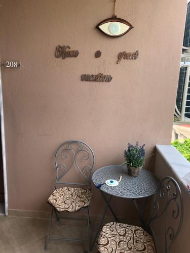 A seating area at Villa Mary 1