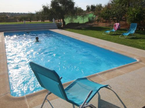The swimming pool at or near Sierra De Monfrague