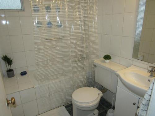 Um banheiro em Curicó Portugal Apartment