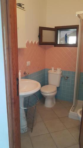 Een badkamer bij Casa Terme Romane