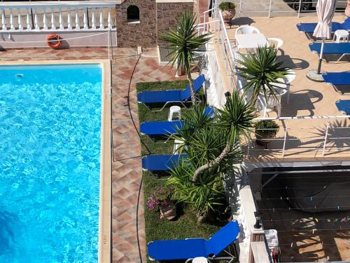 A view of the pool at Villa Mary 1 or nearby