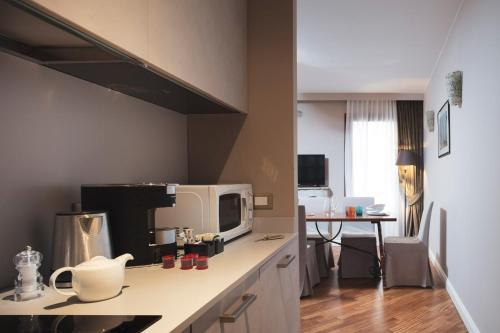 Cucina o angolo cottura di Residenza Ducato Corte Contarina