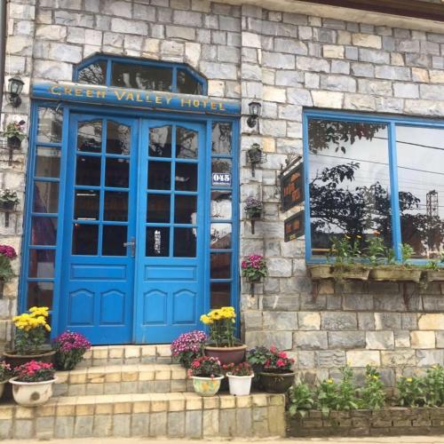 The facade or entrance of Green Valley Hotel