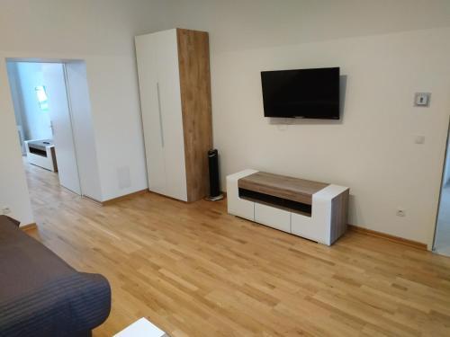 Телевизор и/или развлекательный центр в checkVienna - Brandmayer Apartments