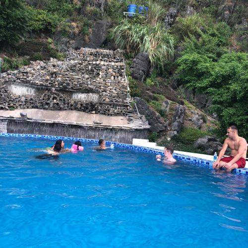 The swimming pool at or near Tam Coc Homestay