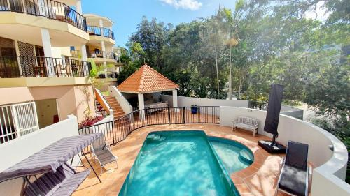 A view of the pool at Parkshores Sunshine Beach Noosa Holiday Apartments or nearby