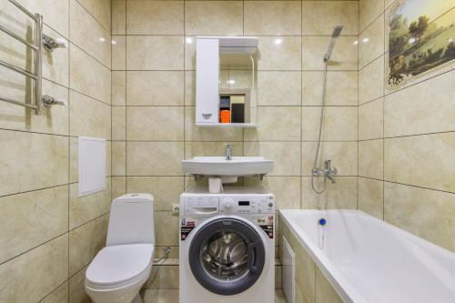 A bathroom at Apartment on Selezneva 4/13
