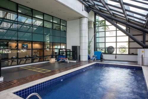 A piscina localizada em SP Stays Peixoto Gomide ou nos arredores