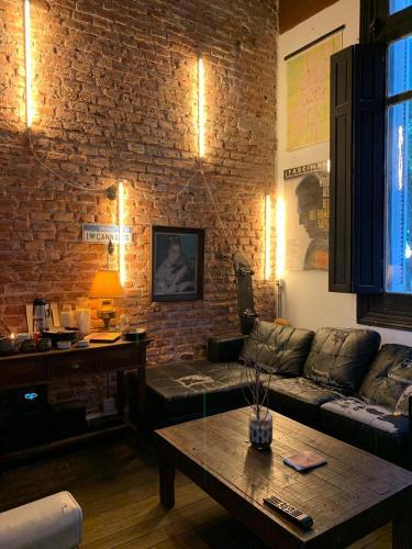 Oleskelutila majoituspaikassa Club and Bar House