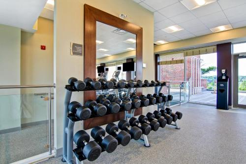 The fitness center and/or fitness facilities at Residences at Kanata Lakes