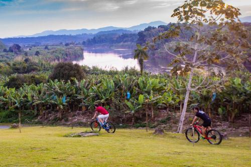 Ciclismo em Pousada Ecológica Recanto das Águas ou nos arredores