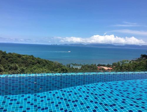 The swimming pool at or close to The Lookout Samui