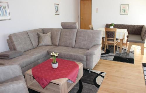 A seating area at Apartment Oberreute - 05