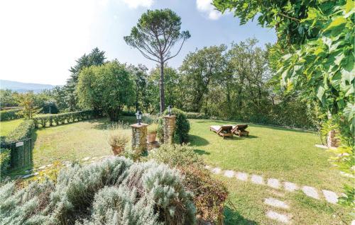 A garden outside Paola´s Villa
