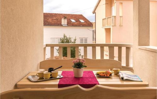 Možnosti snídaně pro hosty v ubytování Apartment Makarska Zagrebacka III