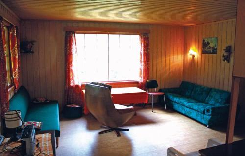 A seating area at Holiday home Tingvatn Lokeli Hyttegrend Nr. III