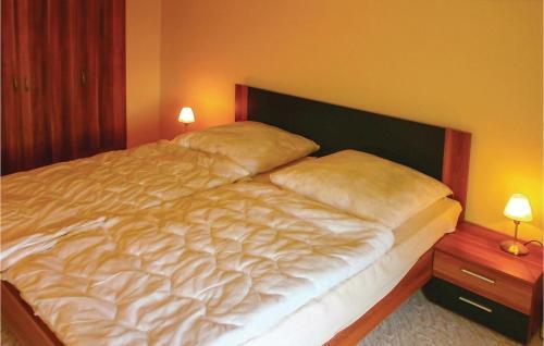 Ein Bett oder Betten in einem Zimmer der Unterkunft Apartment Bastorf OT Westhof 32 Germany