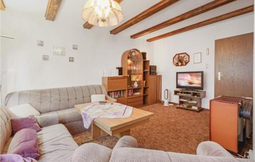 A seating area at Holiday home Am Hasselberg V
