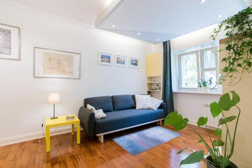 A seating area at Apartment in perfect location - Metro Ratusz Arsenał