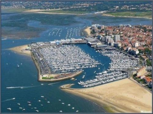 A bird's-eye view of Apartment Location appartement arcachon, 2 pièces, 4 personnes
