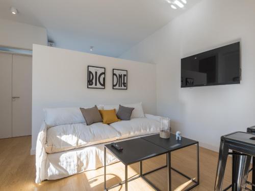 Un lugar para sentarse en Apartamentos Paunero y Las Heras