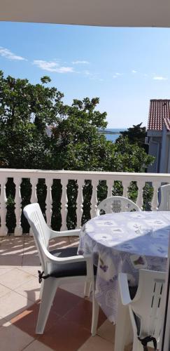 Balkon ili terasa u objektu Apartmants Katica
