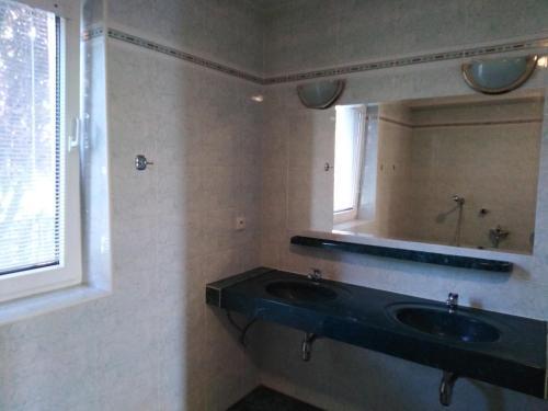 Kúpeľňa v ubytovaní Prenájom izieb v Stupave .