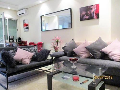 A seating area at Star Studio Gauthier