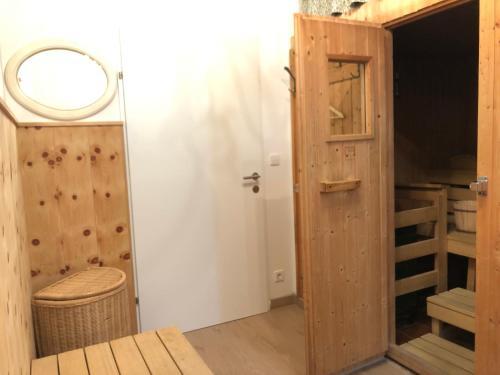 Ein Badezimmer in der Unterkunft Haus Hoffmann