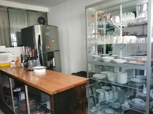 Una cocina o zona de cocina en Union Wasi