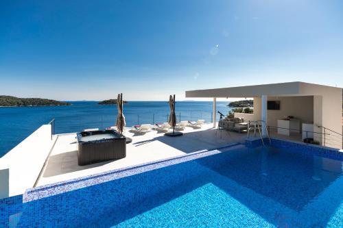 The swimming pool at or near Villa Desire