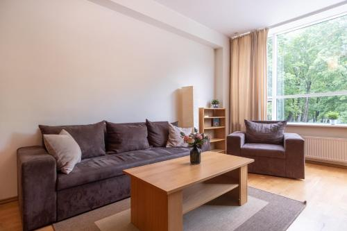 Istumisnurk majutusasutuses Dream Stay - Cozy open bedroom apartment near Noblessner