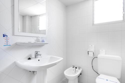 Ένα μπάνιο στο Apartamentos Vista Club