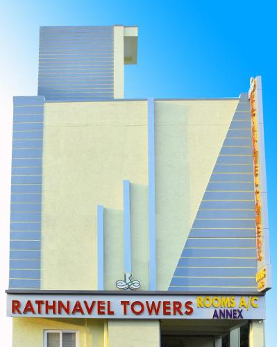 The floor plan of RATHNAVEL TOWERS ANNEX