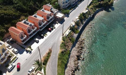 A bird's-eye view of Porto Kalyves