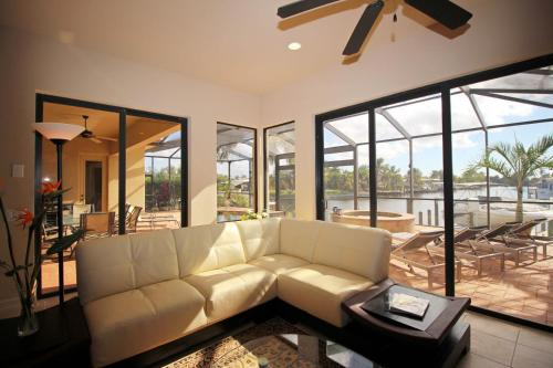 A seating area at Holland House Cape Coral, 2732 Southwest 25th Street