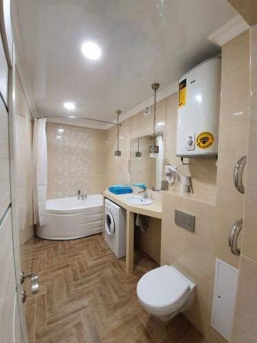 Ванная комната в Люкс Аврора на ул. Фомина д.9