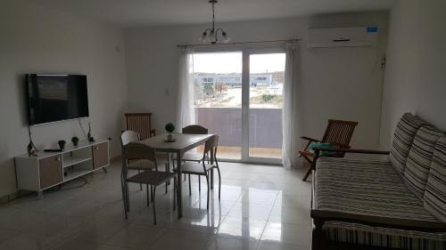 Un lugar para sentarse en Leloir Apartments Neuquen !