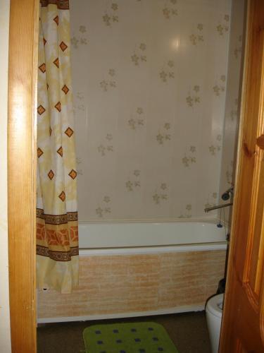 A bathroom at Lenkost Motel