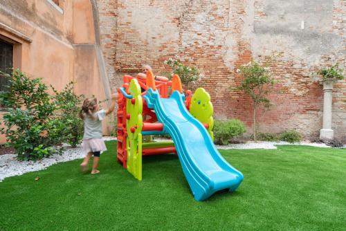 Children staying at Corte dei Santi