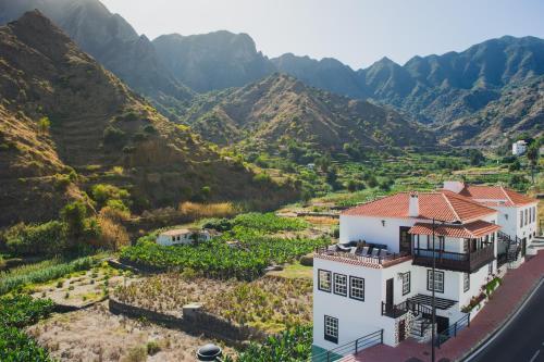 A bird's-eye view of Apartamentos Los Telares