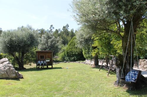 A garden outside Quinta Do Meira