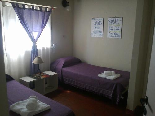 Una cama o camas en una habitación de Tierra Mora