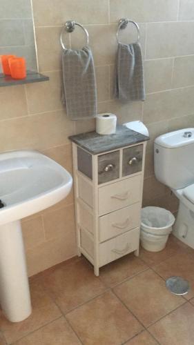 Ein Badezimmer in der Unterkunft Apartamentos Alberto S.L.