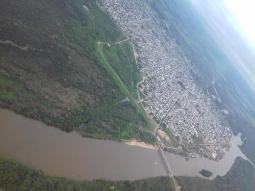 Una vista aérea de Colon M