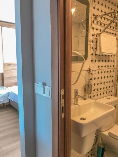 Ванная комната в Sultanahmet Nu Hotel