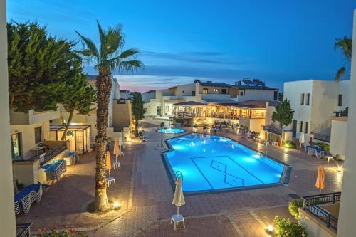 A view of the pool at Blue Aegean Hotel & Suites or nearby