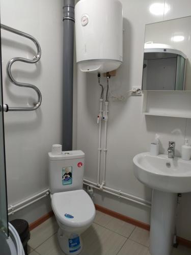 A bathroom at Hotel complex Baikalskiy Rai