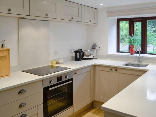A kitchen or kitchenette at The Apple House